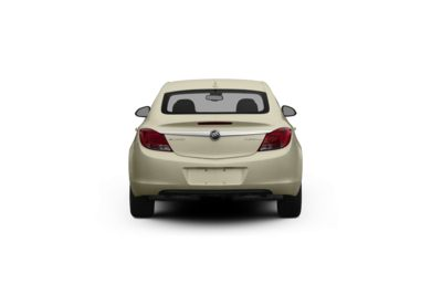 Surround Rear Profile 2012 Buick Regal