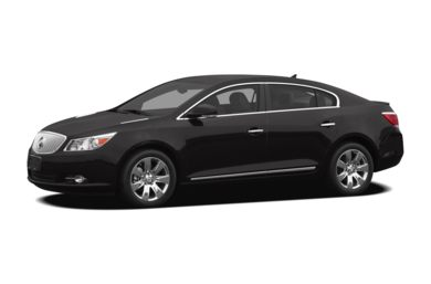 3/4 Front Glamour 2012 Buick LaCrosse