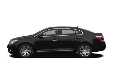 90 Degree Profile 2012 Buick LaCrosse