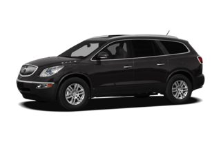 3/4 Front Glamour 2012 Buick Enclave