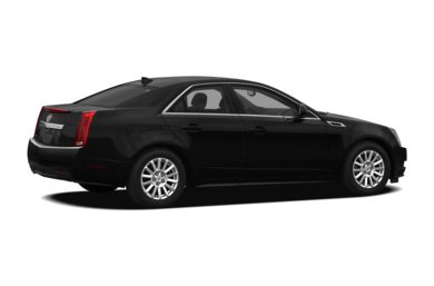 3/4 Rear Glamour  2012 Cadillac CTS
