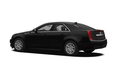 Surround 3/4 Rear - Drivers Side  2012 Cadillac CTS