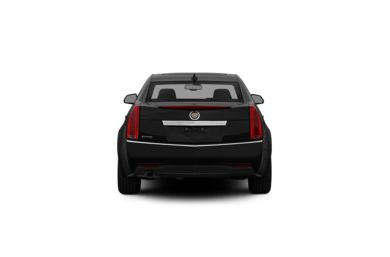 Surround Rear Profile 2012 Cadillac CTS