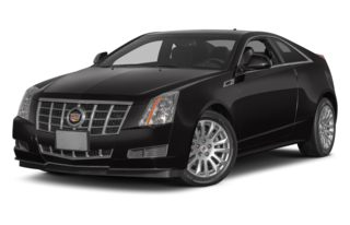 3/4 Front Glamour 2012 Cadillac CTS