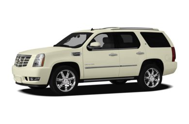 3/4 Front Glamour 2012 Cadillac Escalade Hybrid