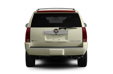 Rear Profile  2012 Cadillac Escalade Hybrid