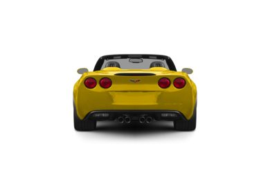 Surround Rear Profile 2012 Chevrolet Corvette
