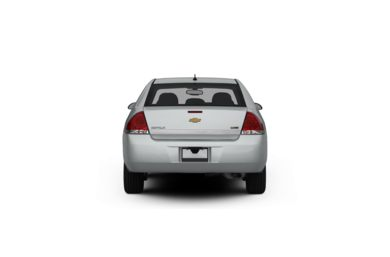 Surround Rear Profile 2012 Chevrolet Impala