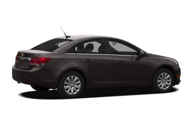 3/4 Rear Glamour  2012 Chevrolet Cruze