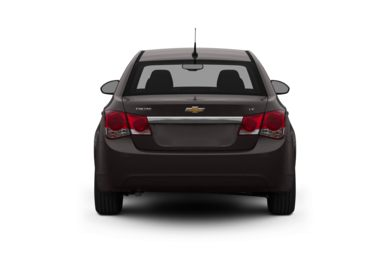Rear Profile  2012 Chevrolet Cruze