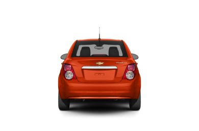 Surround Rear Profile 2012 Chevrolet Sonic