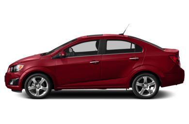 90 Degree Profile 2014 Chevrolet Sonic