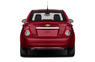 Rear Profile  2014 Chevrolet Sonic