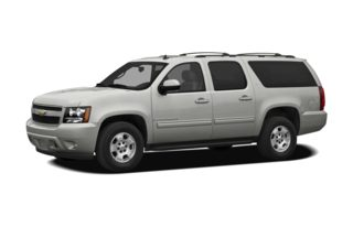 3/4 Front Glamour 2012 Chevrolet Suburban 2500