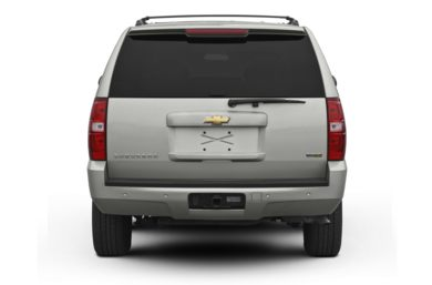 Rear Profile  2012 Chevrolet Suburban 2500
