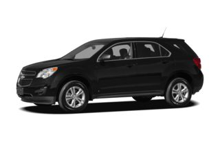 3/4 Front Glamour 2012 Chevrolet Equinox
