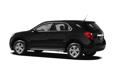 Surround 3/4 Rear - Drivers Side  2012 Chevrolet Equinox