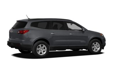 3/4 Rear Glamour  2012 Chevrolet Traverse
