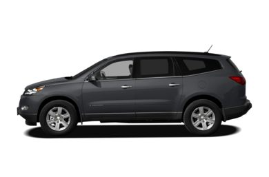 90 Degree Profile 2012 Chevrolet Traverse