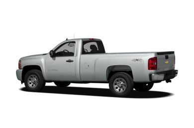 Surround 3/4 Rear - Drivers Side  2012 Chevrolet Silverado 1500