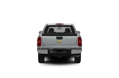 Surround Rear Profile 2012 Chevrolet Silverado 1500