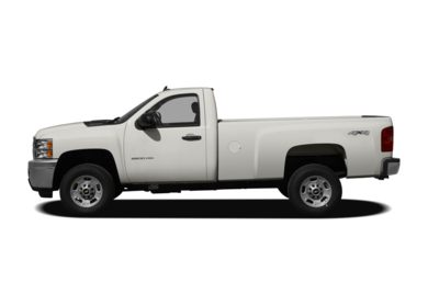 90 Degree Profile 2012 Chevrolet Silverado 2500HD