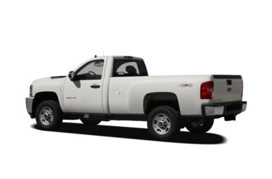 Surround 3/4 Rear - Drivers Side  2012 Chevrolet Silverado 2500HD
