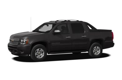 3/4 Front Glamour 2012 Chevrolet Avalanche