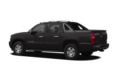Surround 3/4 Rear - Drivers Side  2012 Chevrolet Avalanche