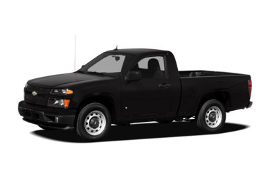 3/4 Front Glamour 2012 Chevrolet Colorado