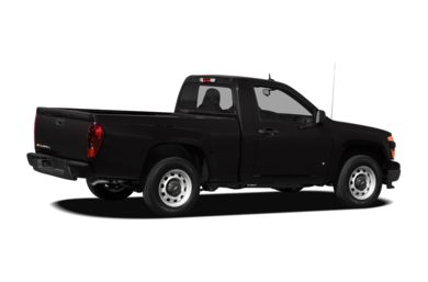 3/4 Rear Glamour  2012 Chevrolet Colorado
