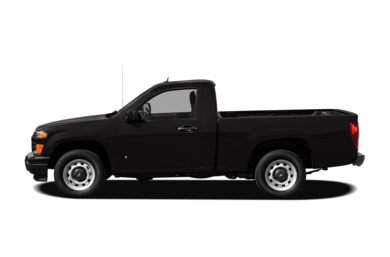90 Degree Profile 2012 Chevrolet Colorado