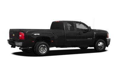 3/4 Rear Glamour  2012 Chevrolet Silverado 3500HD