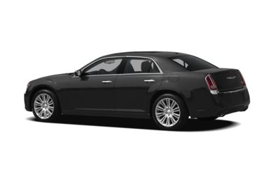 Surround 3/4 Rear - Drivers Side  2012 Chrysler 300C