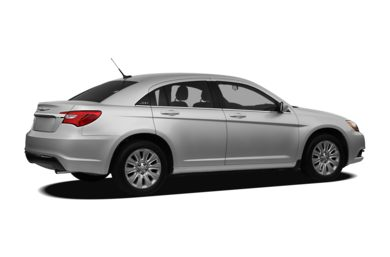 3/4 Rear Glamour  2012 Chrysler 200