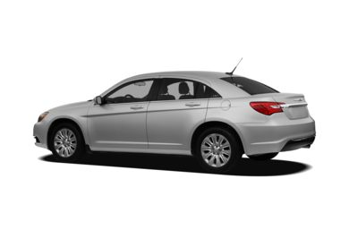Surround 3/4 Rear - Drivers Side  2012 Chrysler 200