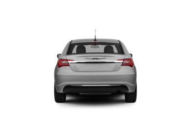 Surround Rear Profile 2012 Chrysler 200