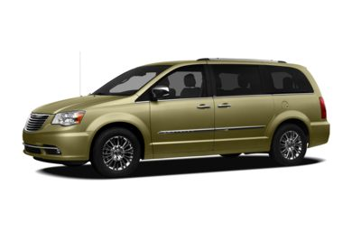 3/4 Front Glamour 2012 Chrysler Town & Country