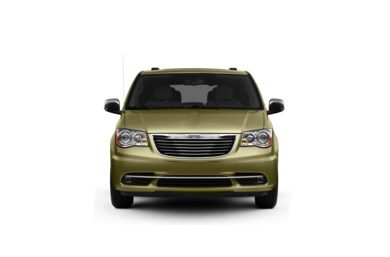 Surround Front Profile  2012 Chrysler Town & Country