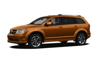 3/4 Front Glamour 2012 Dodge Journey
