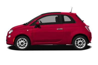 90 Degree Profile 2012 FIAT 500