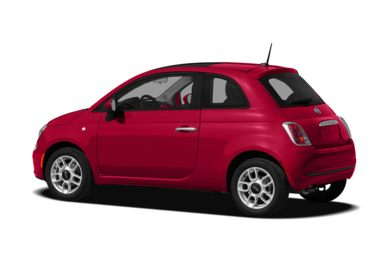 Surround 3/4 Rear - Drivers Side  2012 FIAT 500