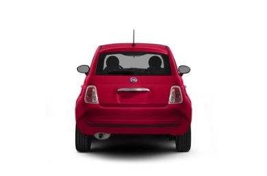 Surround Rear Profile 2012 FIAT 500