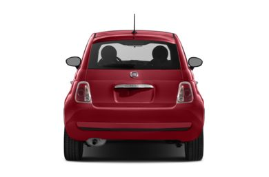Rear Profile  2012 FIAT 500