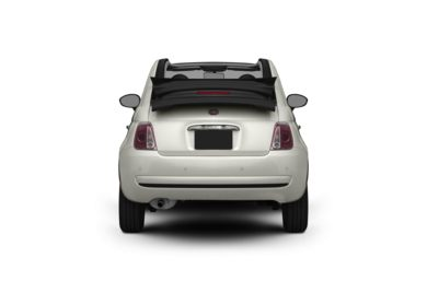 Surround Rear Profile 2012 FIAT 500c