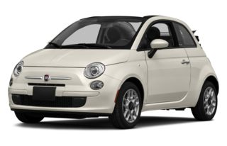 3/4 Front Glamour 2012 FIAT 500c