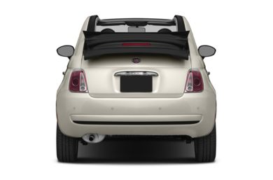 Rear Profile  2012 FIAT 500c