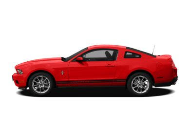 90 Degree Profile 2012 Ford Mustang