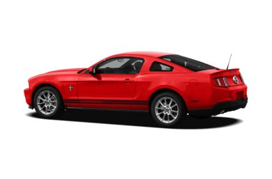 Surround 3/4 Rear - Drivers Side  2012 Ford Mustang