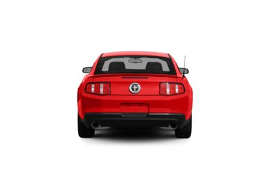 Surround Rear Profile 2012 Ford Mustang